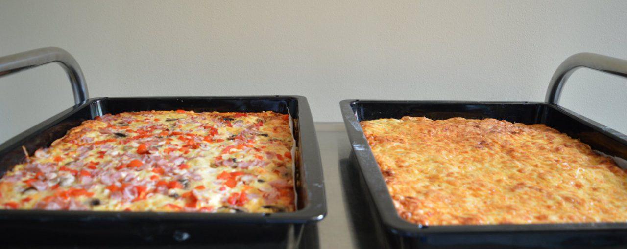 Wspólne pieczenie pizzy
