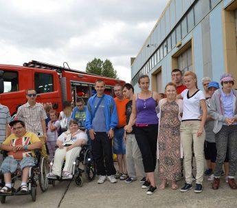 Zwiedzanie Jednostki Państwowej Straży Pożarnej w Głogowie