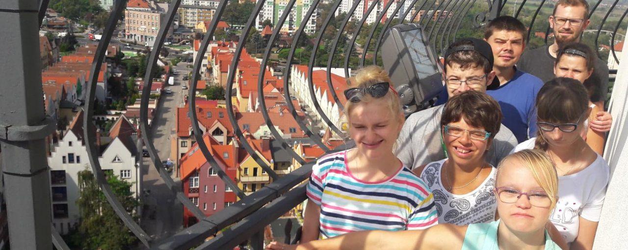 Wejście na wieże ratuszową w Głogowie