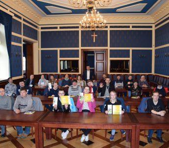 Z wizytą u Prezydenta Miasta Głogowa