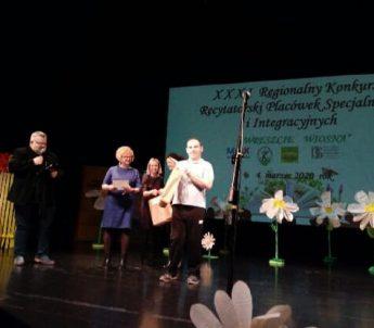 XXXI Regionalny Konkurs Recytatorski Placówek Specjalnych i Integracyjnych