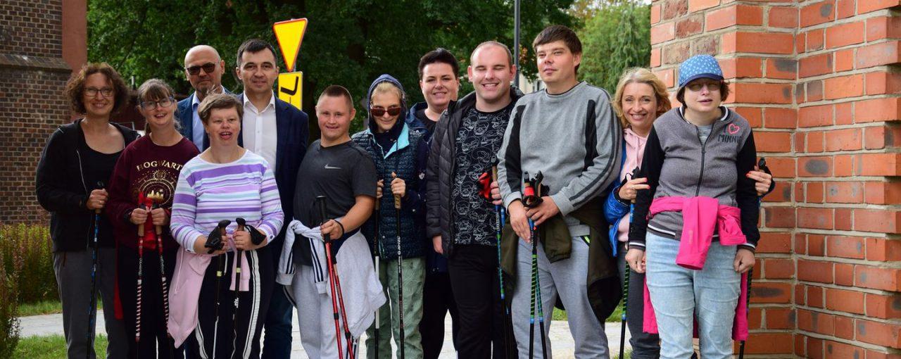 IV Dolnośląskie Mistrzostwa Nordic Walking Uczestników Warsztatów Terapii Zajęciowej.